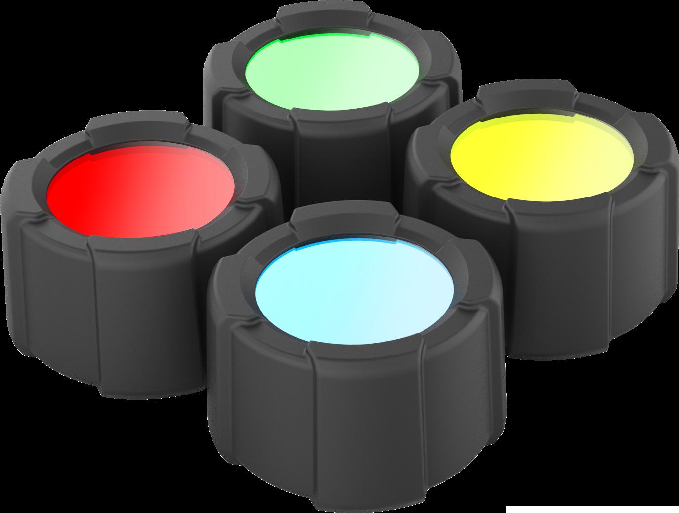Rullebeskyttelse med fargefilter